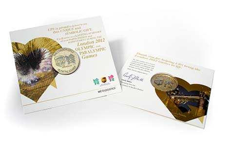 UPS Olympic Commemorative coin