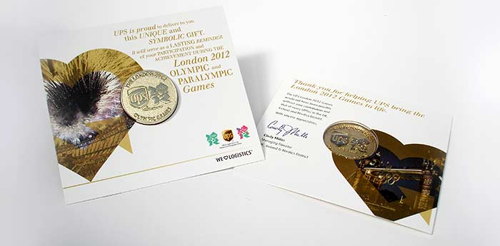 UPS Olympic London 2012 Commemorative Coin